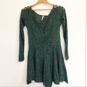 Free People Intimately Free Juliet Lace Dress S